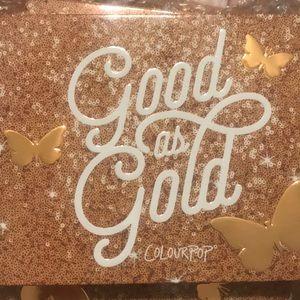 Color pop gods as gold palette